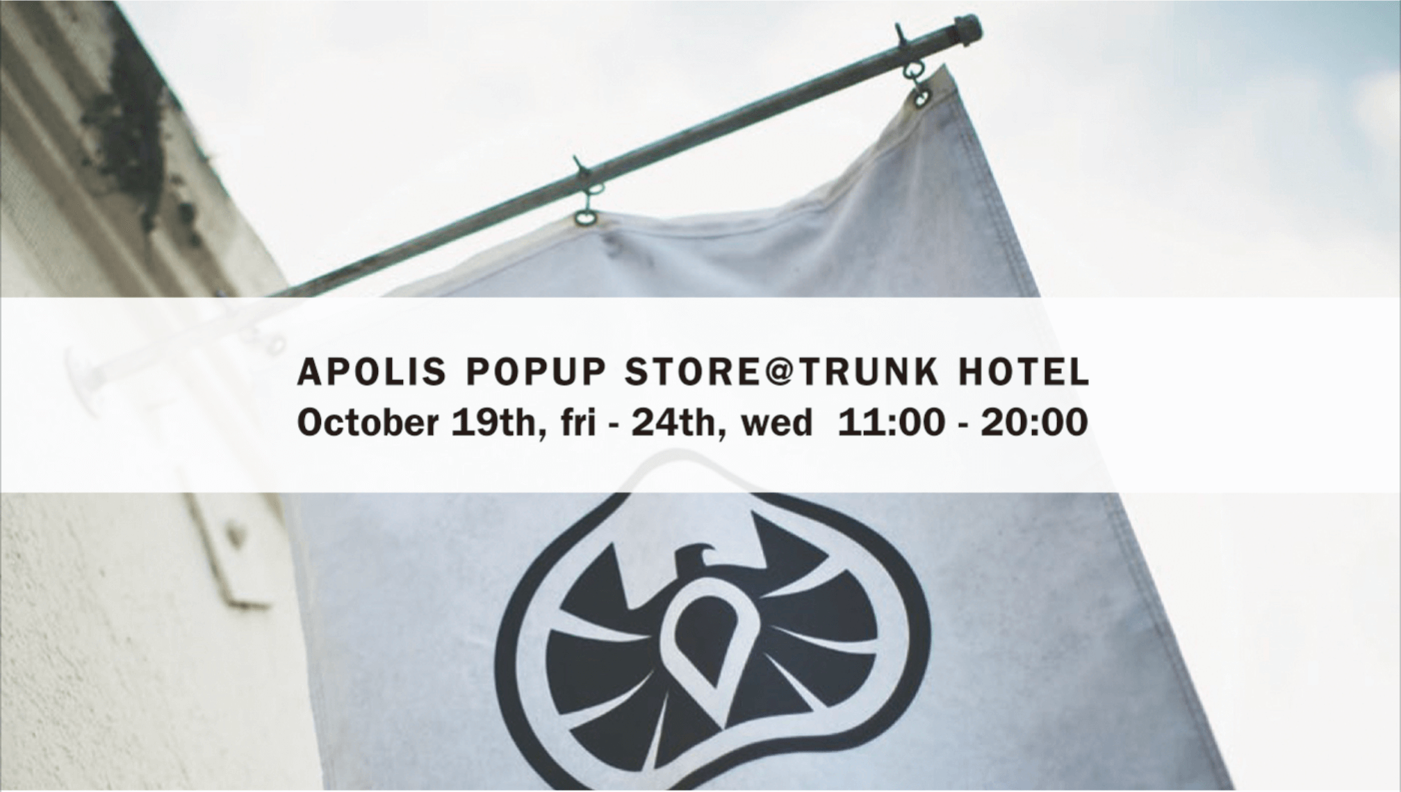 APOLIS POP UP STORE
