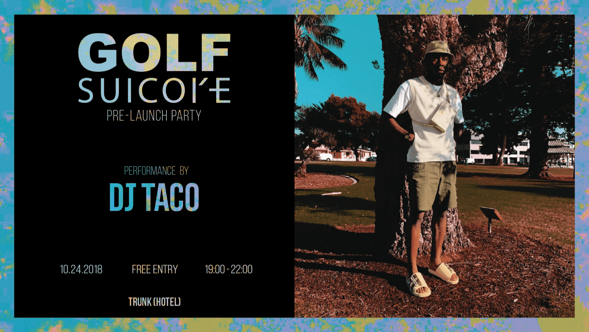 GOLF x SUICOKE Pre-Launch Event
