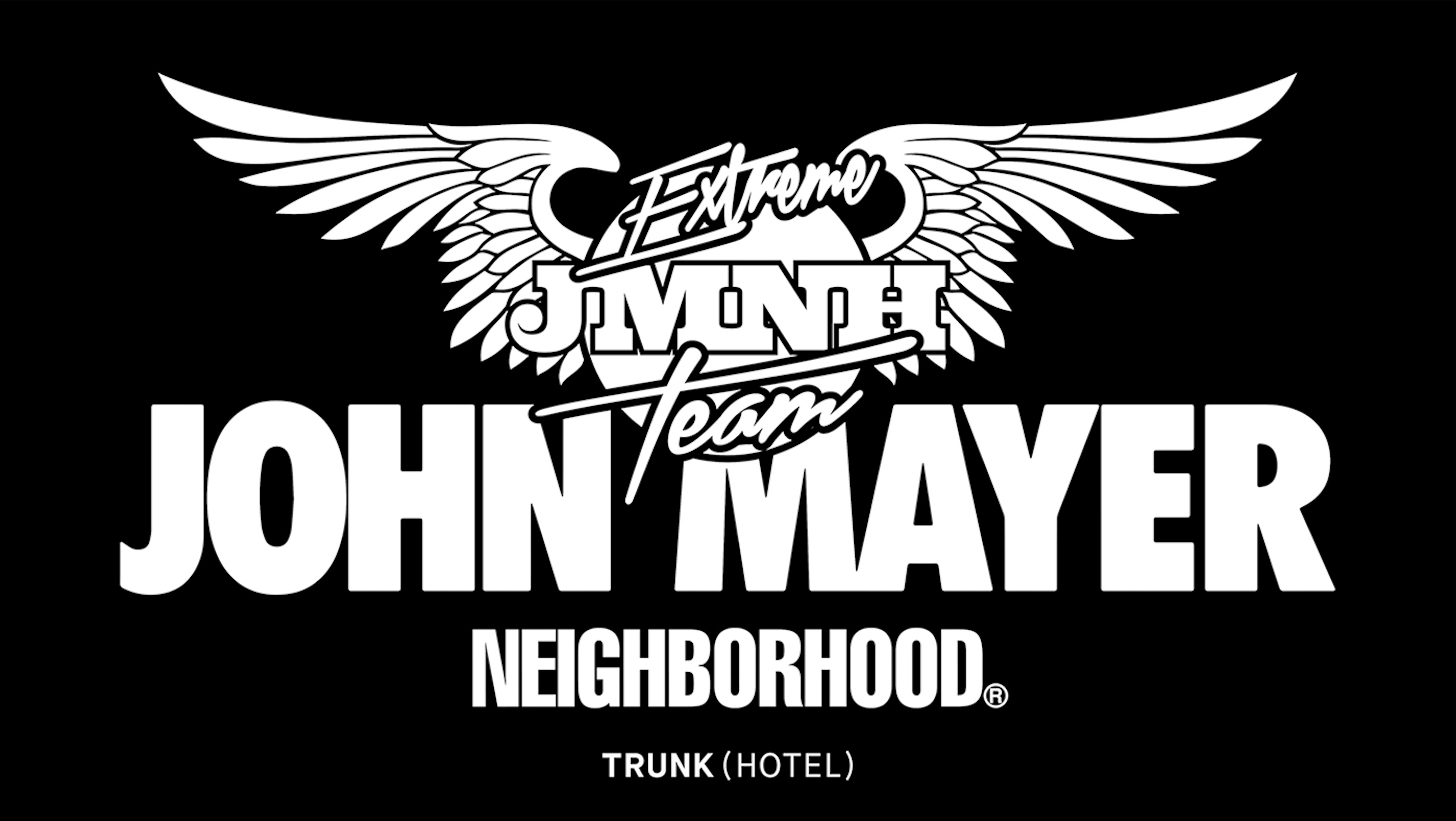 NEIGHBORHOOD Presents JOHN MAYER × NEIGHBORHOOD