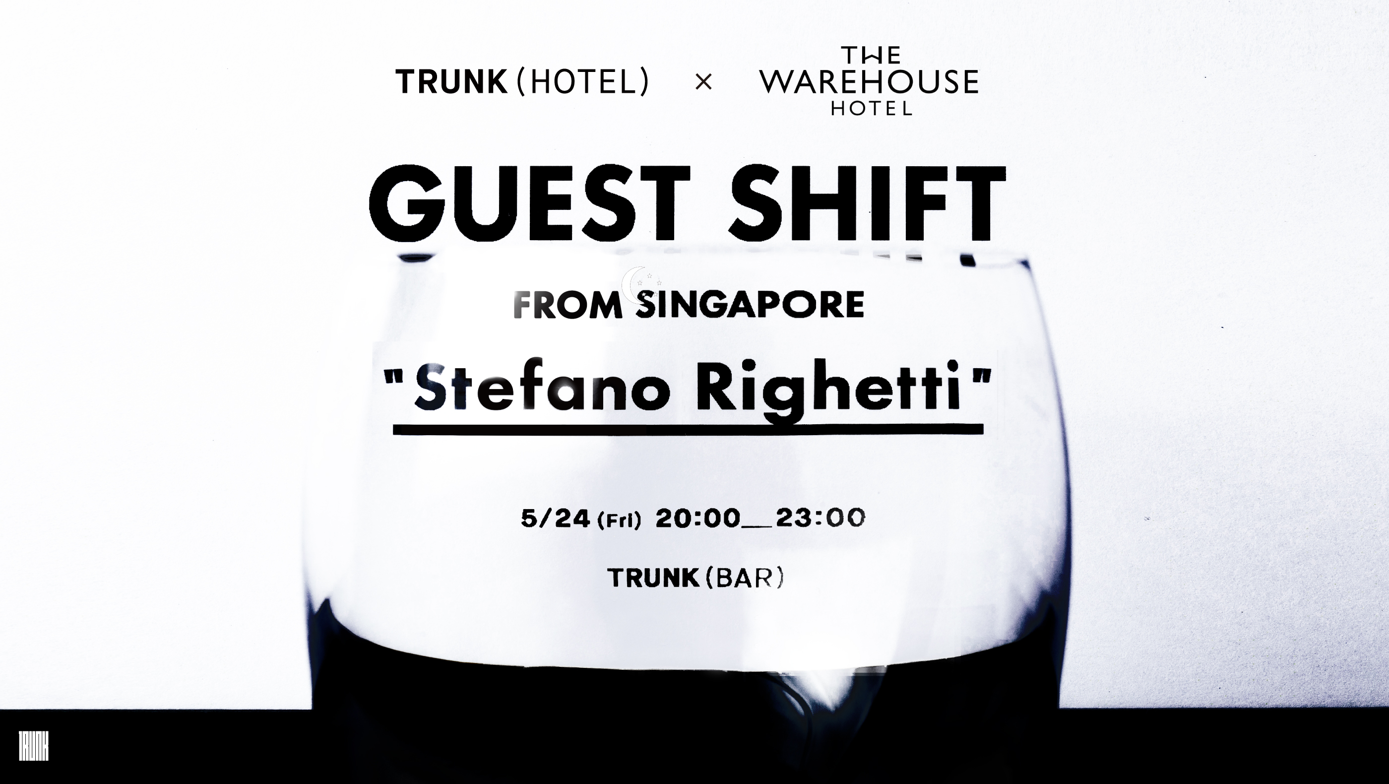 "Guest Shift from Singapore ""Stefano Righetti"""