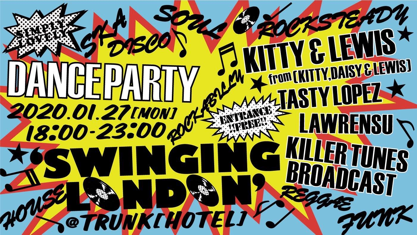 "DANCE PARTY  ""SWINGING LONDON"""