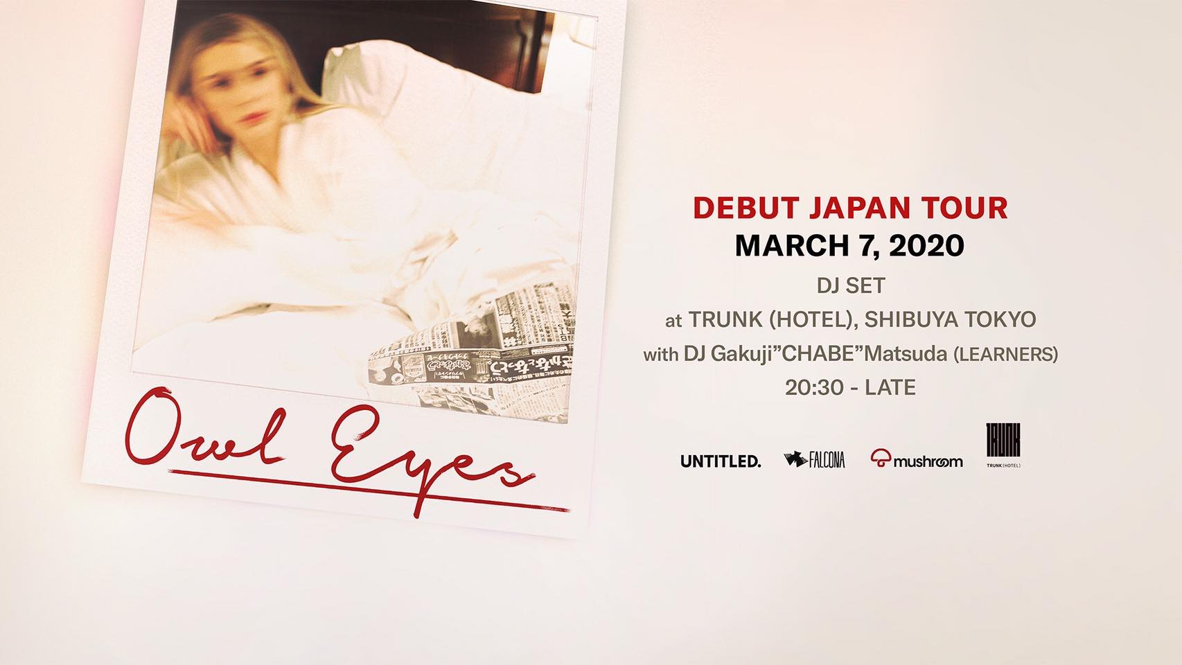 Owl Eyes Debut Japan Tour